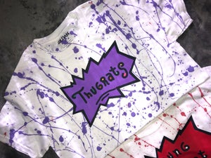 Image of Thugrat Splatterd T-shirt