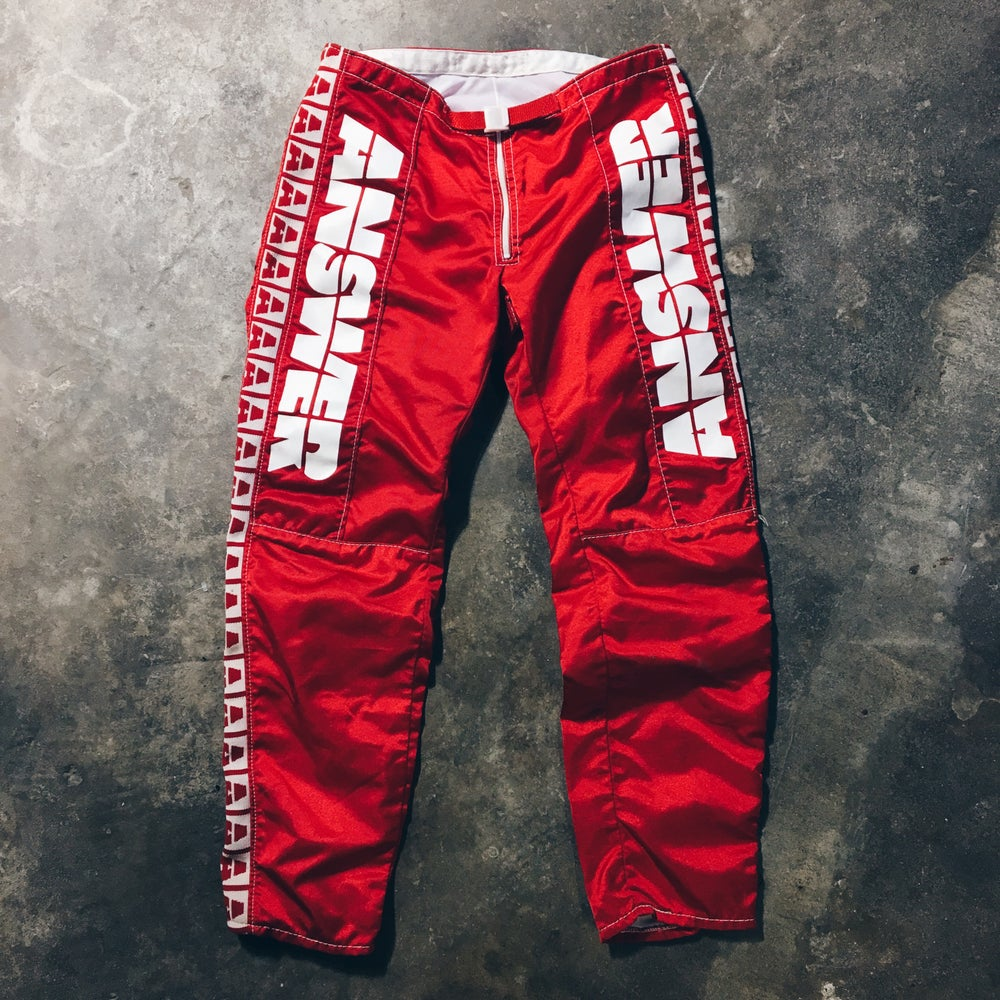 Image of Original 80's Answer Racing Pants.