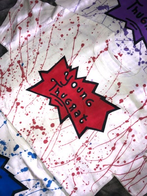 Image of Splattered Young Thugrat T-shirt