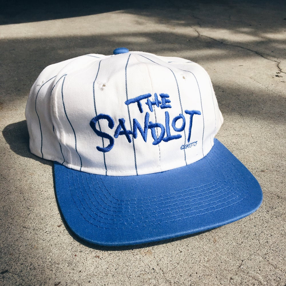 Image of Original 1993 The Sandlot Promo Movie SnapBack.