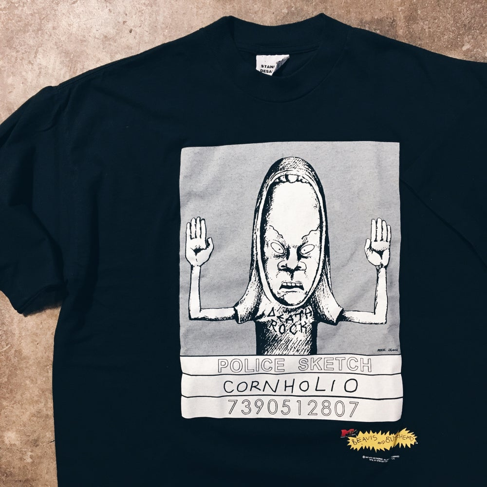 Image of Original 1997 Stanley Desantis Beavis And Butt-head Tee.