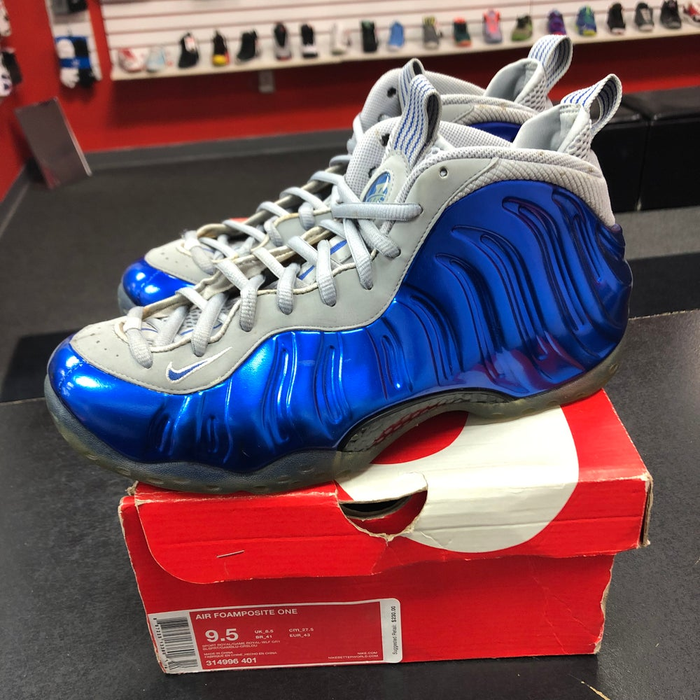 Image of Nike Foamposite - Georgetown - Size 9.5