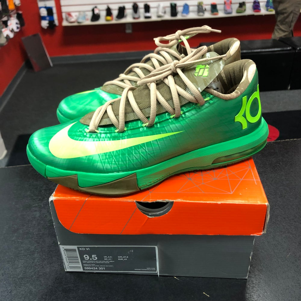 Image of Nike KD VI - Bamboo - Size 9.5