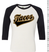 Image of Tacos Baseball T