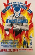 Image of Blue Demon Screened Poster