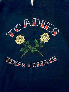 Image of Toadies Texas Forever Blue Pullover Hoodie