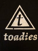 Image of Toadies Triangle logo shirt