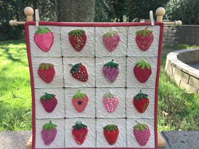 Image of Strawberry Study Pattern
