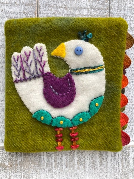 Image of Myrtle Needle Book Pattern & Kit