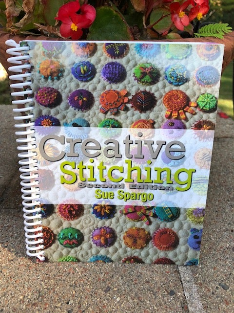 Image of Creative Stitching Book by Sue Spargo - Second Edition