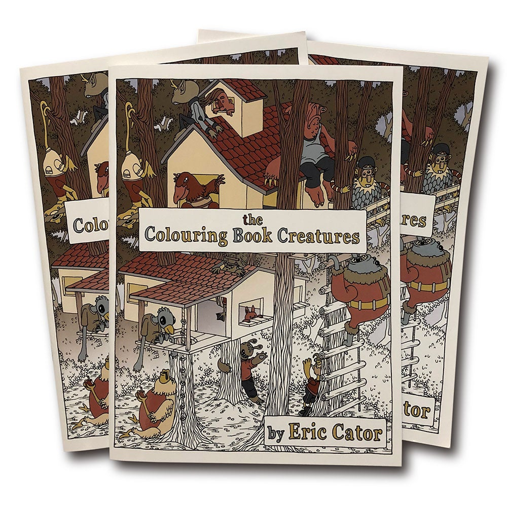 Image of Colouring Book Creatures - 3 Pack of Colouring Books!