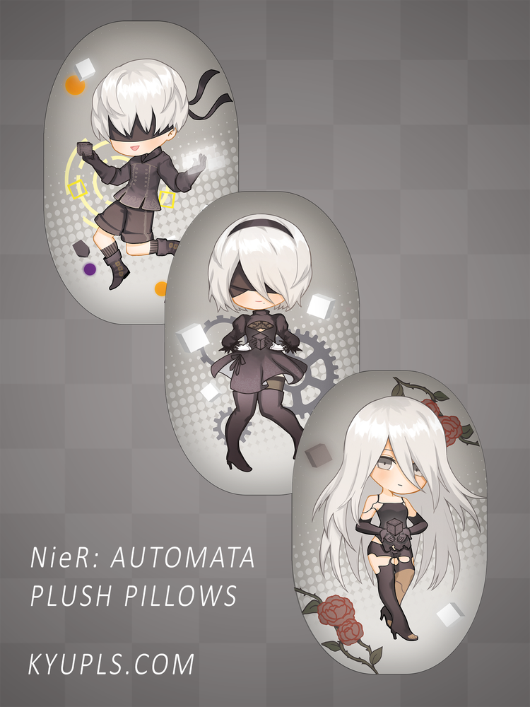 Image of NieR: Automata Plush Pillows
