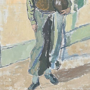 Image of Large, 1944 Portrait, 'The Potter.'
