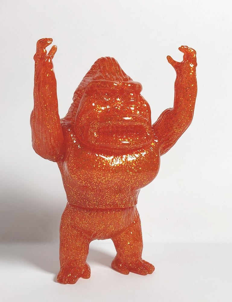 Image of Blank Koningu - Sparkly orange