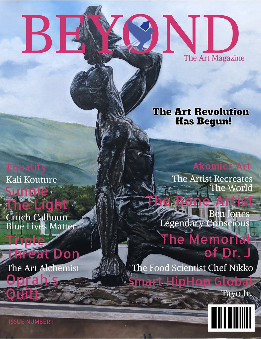 Image of Beyond The art Magazine Issue 1 The Art Revolution