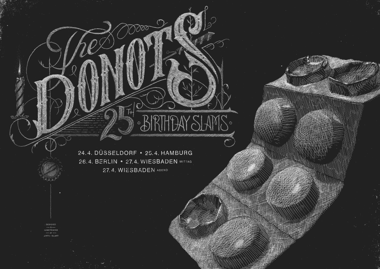 Image of »Donots Tourposter #4«