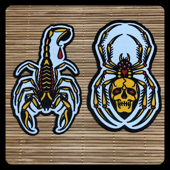 Image of SCORPION AND SPIDER PATCH PACK