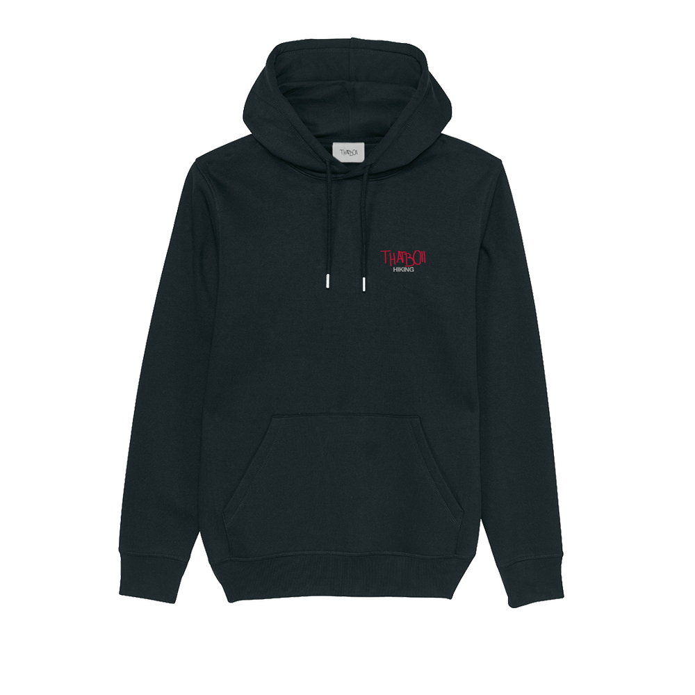 Image of thatboii hiking hoodie - black