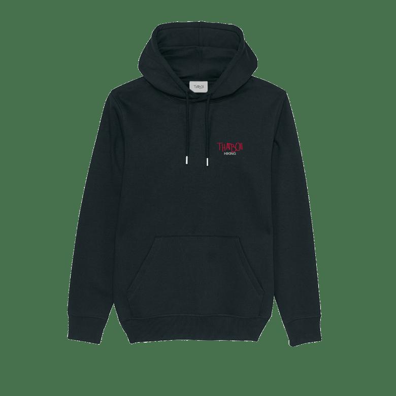 Image of thatboii hiking hoodie - black