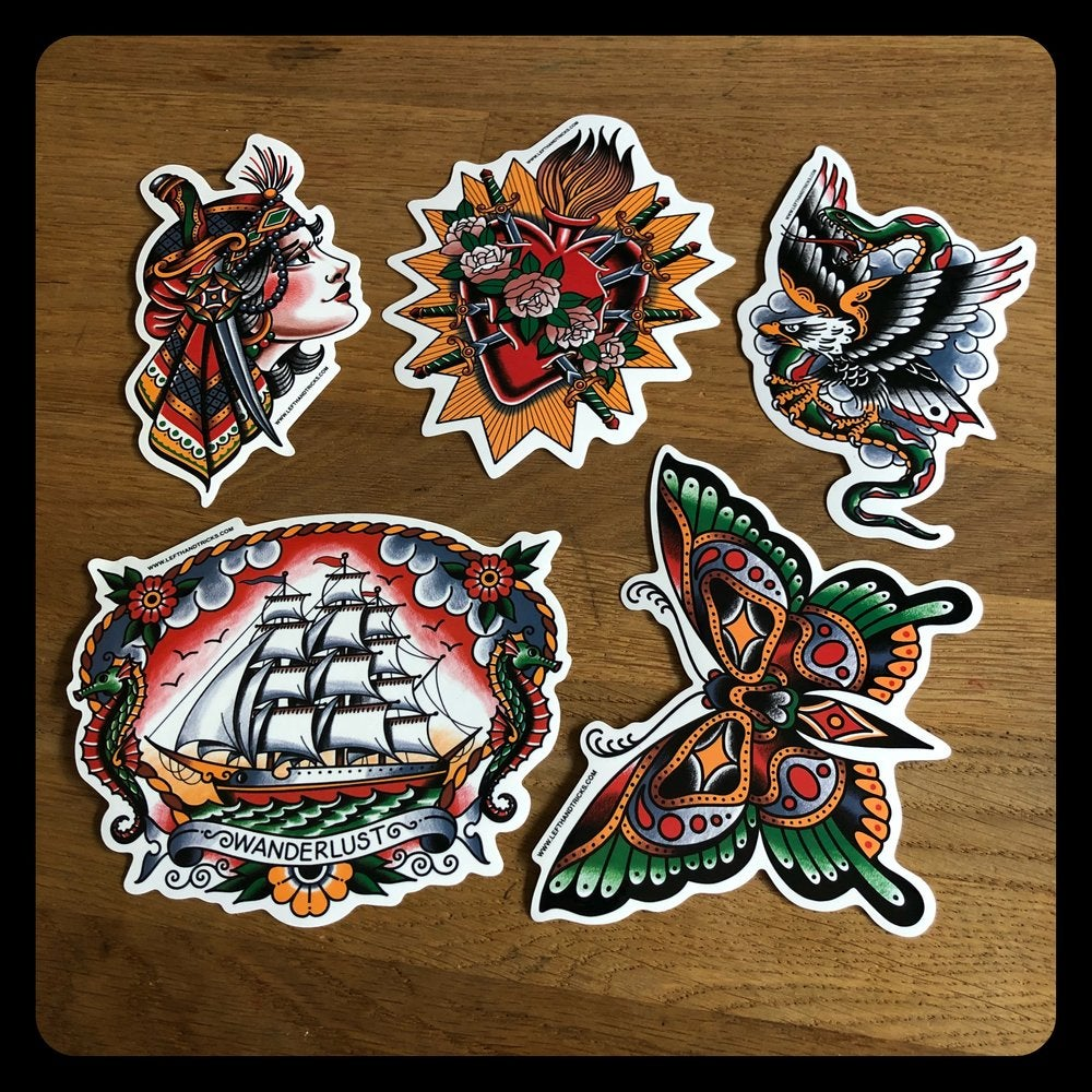 Image of CLASSIC DESIGNS STICKER PACK
