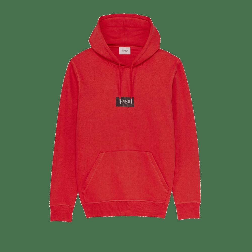 Image of thatboii hiking hoodie - red