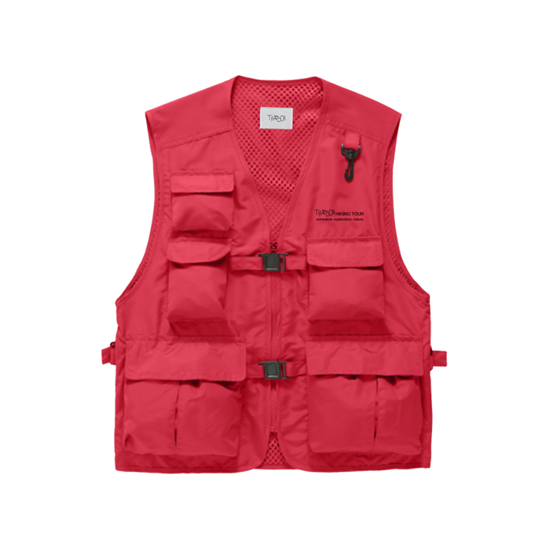 Image of thatboii hiking vest - red