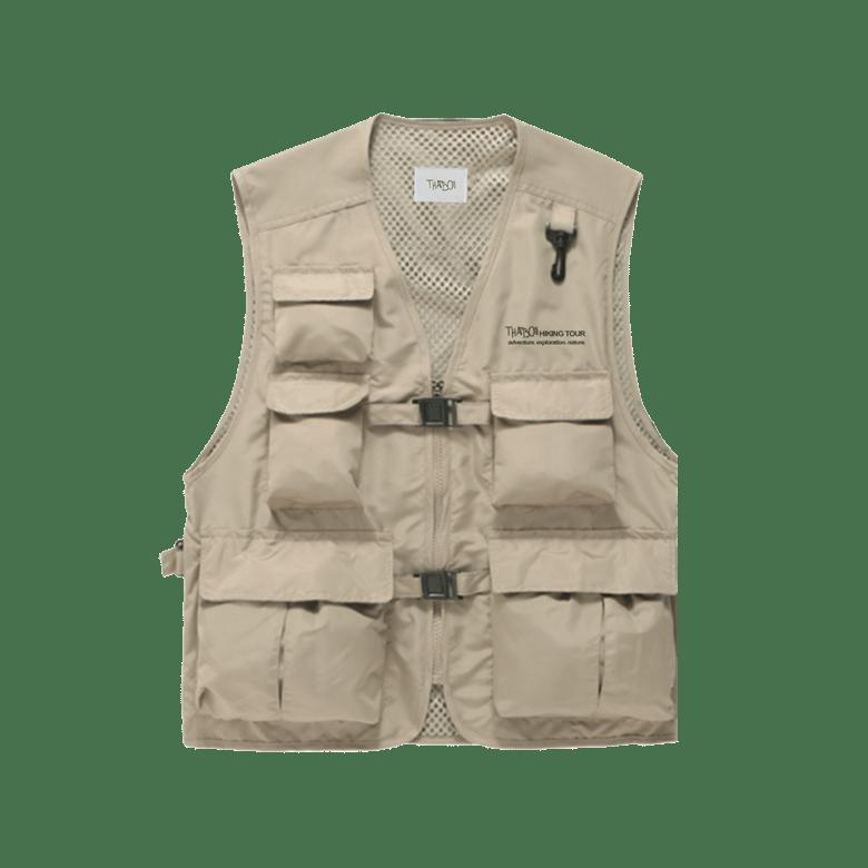 Image of thatboii hiking vest - khaki