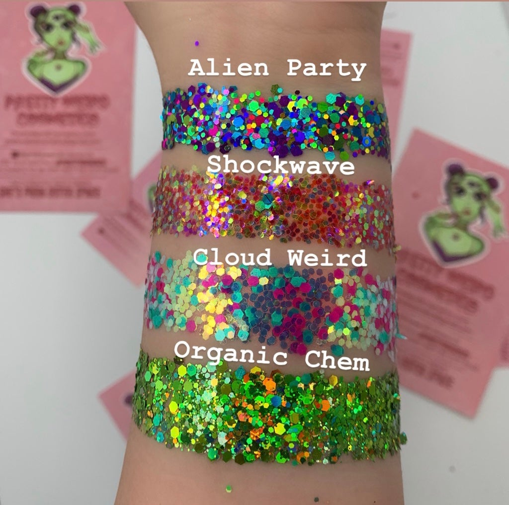 Image of Alien Party Chunky Glitter