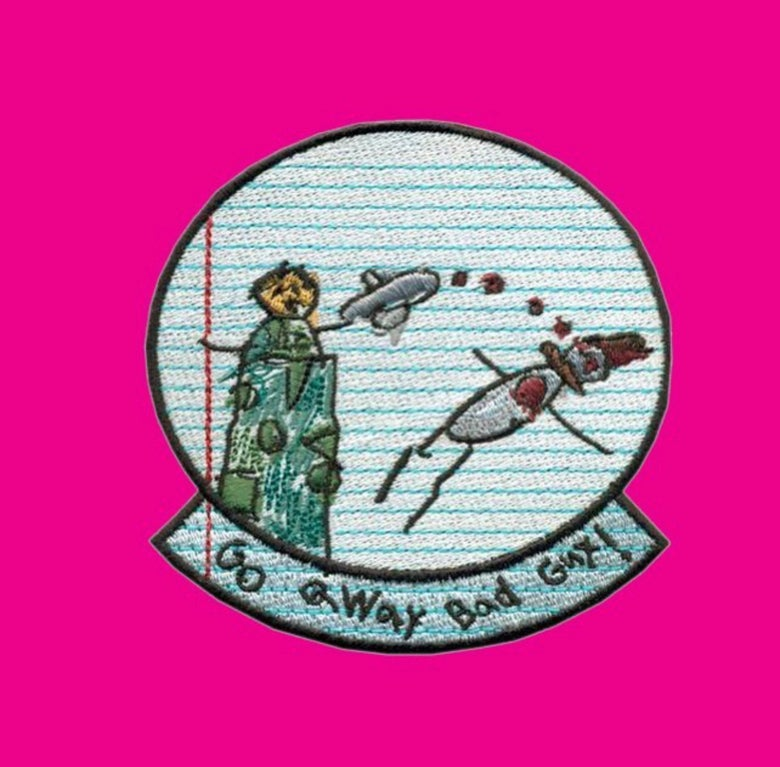 Image of Go Away Bad Guy! Patch