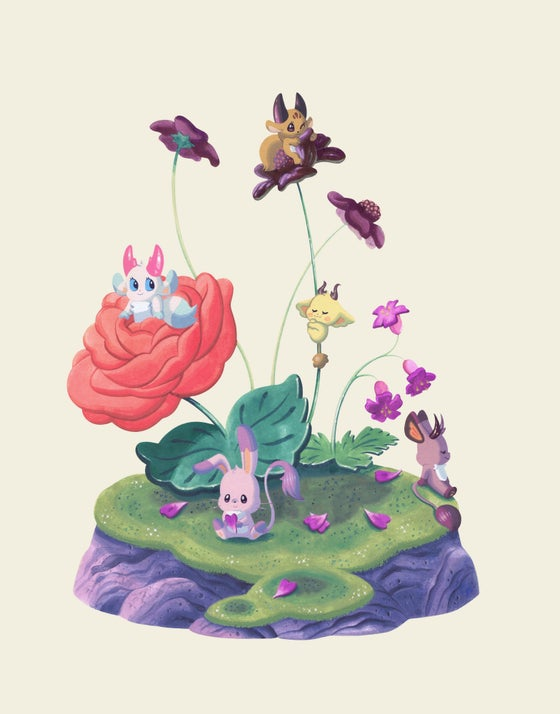 Image of Bouquet Forest Friends