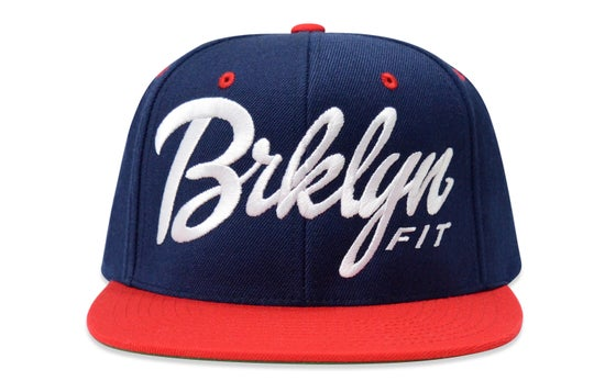 Image of BRKLYN FIT® LOGO (RED/WHITE/BLUE) - SNAPBACK