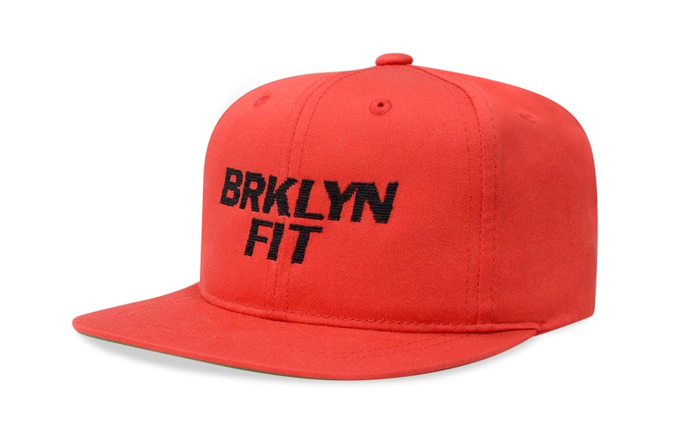 Image of BRKLYN FIT® SPORTS (RED) - KIDS SNAPBACK