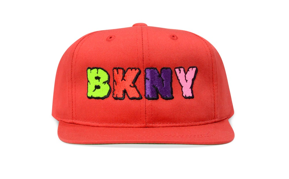 Image of BKNY (RED) - KIDS SNAPBACK