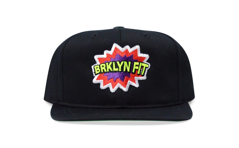 Image of BRKLYN FIT® POW (BLACK) - KIDS SNAPBACK