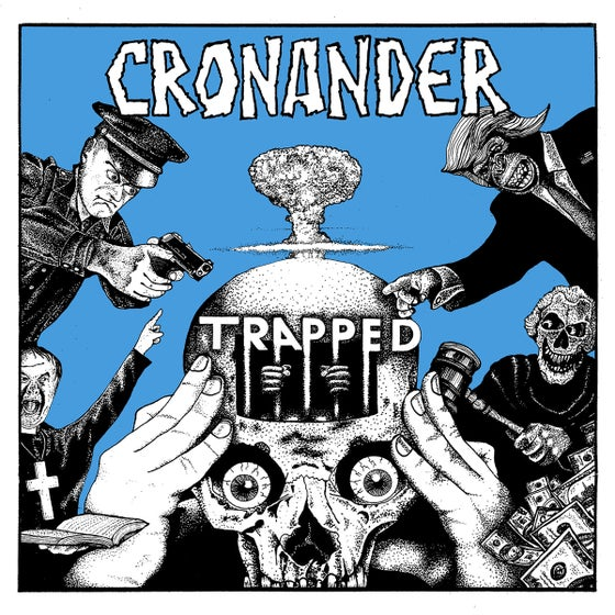 Image of CRONANDER 'Trapped' LP (PRE-ORDER)