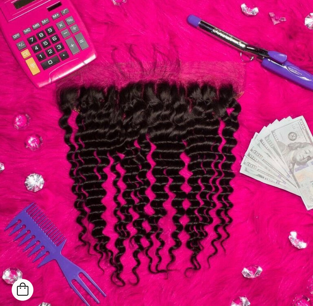 Image of Cece's Lace Exotic Deep Wave Frontals