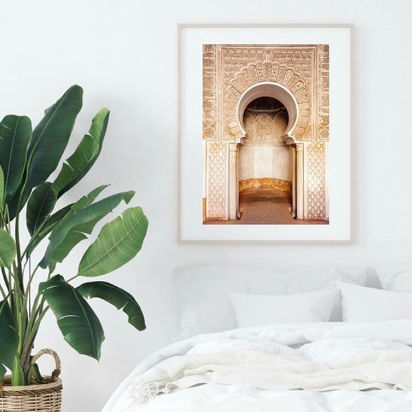 Image of Moroccan Archway WALL PRINT