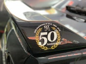 Image of GT-R 50th Anniversary Wreathe Sticker