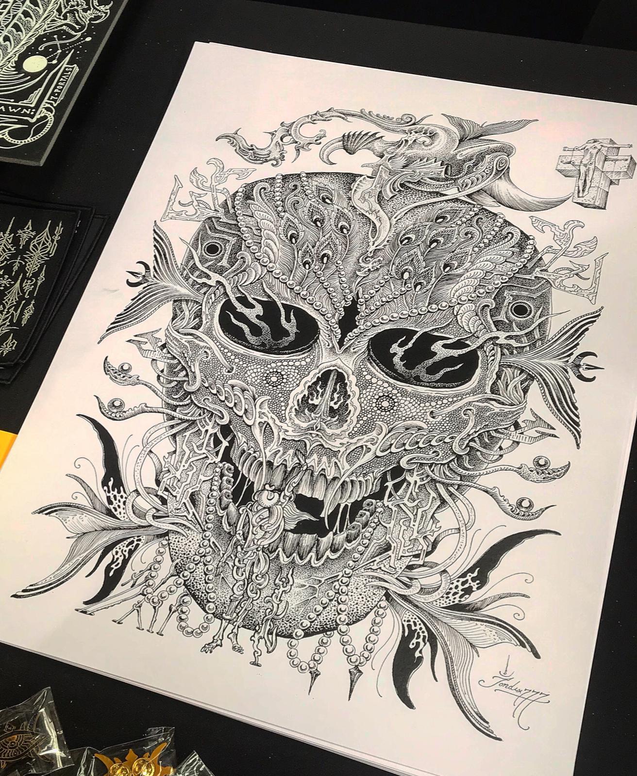 Image of Calvaríum print