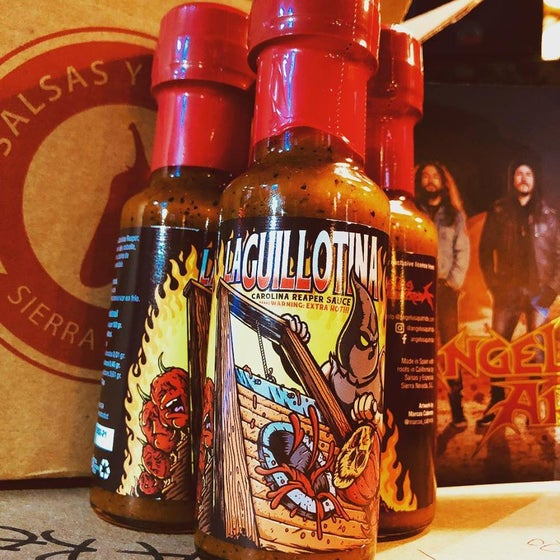 Image of La Guillotina Extra Spicy Sauce