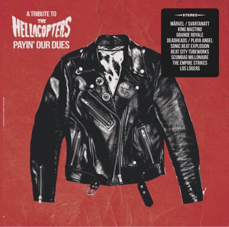 Image of Various - A Tribute to the Hellacopters Payin Our Dues LP
