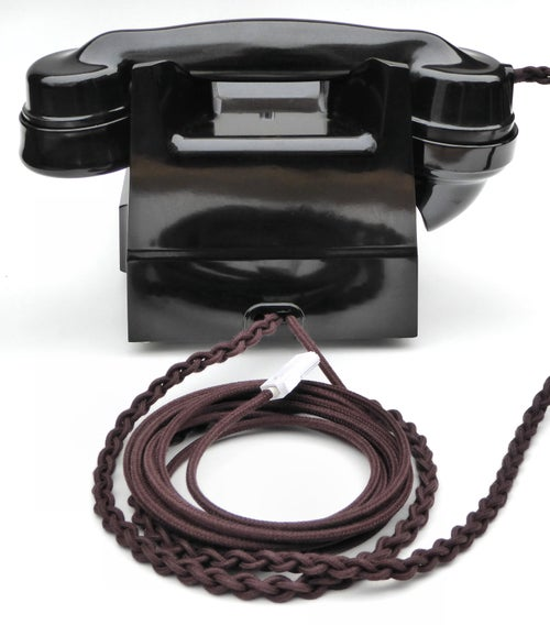 Image of Telephone Cords: Brown (£10.50 to £32.50)