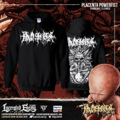 Image of PLACENTA POWERFIST - Weed Alien - Pullover Hoodie