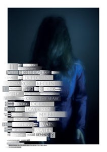 Image of Anil Aykan & Jonathan Barnbrook (Fragile Self) Collections and Collaborations Poster