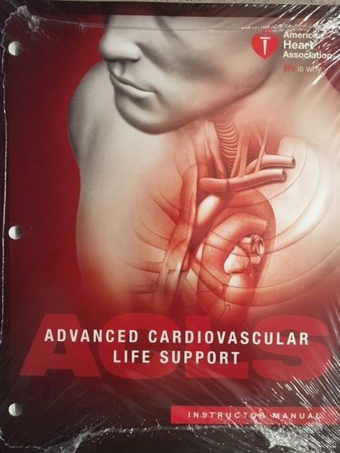 Image of ACLS Instructor Manual