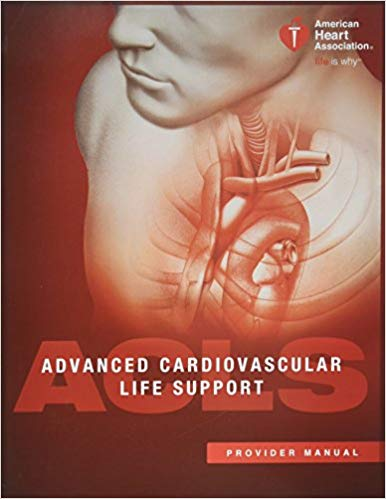 Image of ACLS Provider Student Workbook