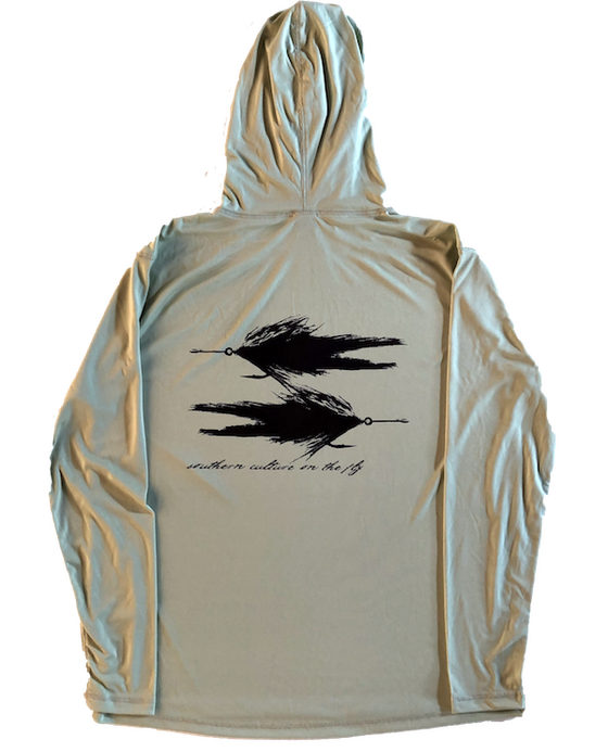 Image of SCOF TARPON FLIES HOODED SUN SHIRT