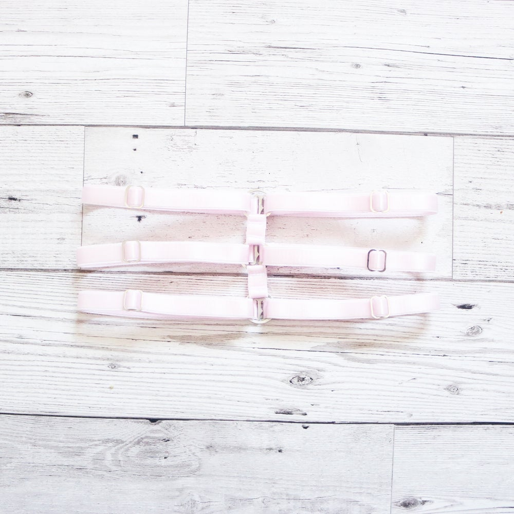 Image of Thigh Garter- Pale Pink