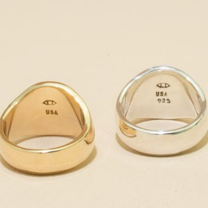 Image of DOME Signet Ring