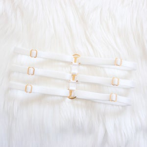 Image of Thigh Garter- Ivory
